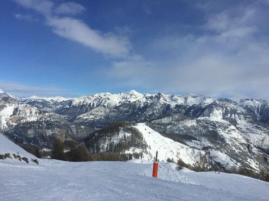 Puy Saint Vincent - Aujourd'hui c'est tip top  - © iPhone de Sylvie