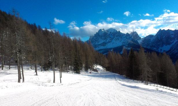 Sextner Dolomiten / Alta Pusteria - Bellissima giornata, bellissime piste e bellissima neve - © iPad