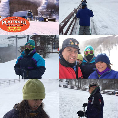 Plattekill Mountain - Today was awesome! Great trails and packed snow!  Our family had a great time ; staff in rental and ticket area were great!  Thomas our instructor was awesome! - © iPhone (2)