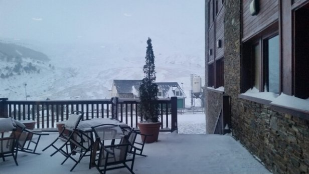 Fórmigal - Yesterday snowed the whole day and it was really windy - © Rodrigo