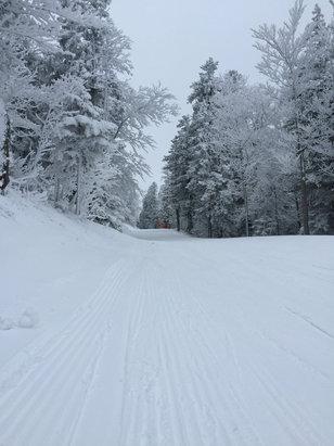 Villard de Lans - Temps deguelasse hier mais bonne neige - © iPhone de Miguel
