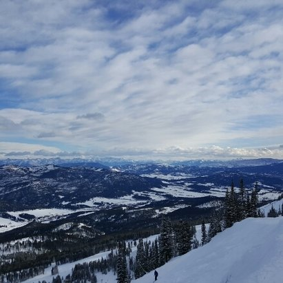 Bridger Bowl - top of the bowl over V-Day. Can't beat Montana or Bridgerbowl. - ©davispatrick192