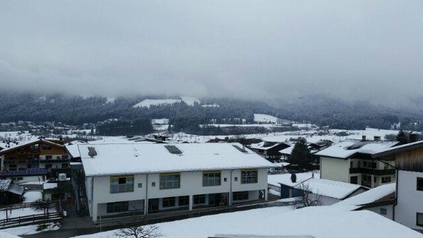 Ellmau - SkiWelt - Seit drei Tagen Nebel. Der Schnee ist ziemlich nass und schwer. Schön ist anders... - © mpgrw3