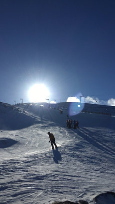 Cairngorm - Great snow but very busy! But overall a great day - © Sam's iPhone