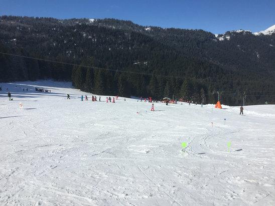 Col de Porte - Très bonne neige, bien qu'un peu transformée dans l'après-midi. - © iPhone de Benoit
