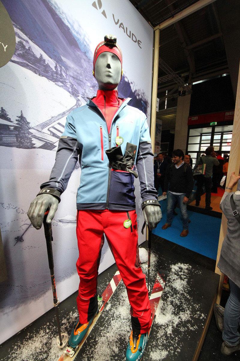 Larice Rapidity jacket van VAUDE , een skitoer softshell. - ©Skiinfo