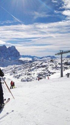 San Pellegrino - Falcade - Bella località con belle piste... peccato per le temperature troppo alte per la stagione, da tornarci sicuramente... - © fabio.gmtecnology