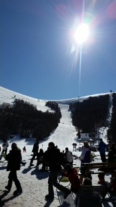 Campo Felice - Rocca di Cambio - Sabato giornata da paura con neve spettacolare! - © silviomonac69