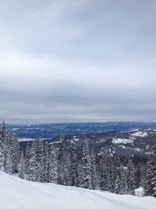 Brundage Mountain Resort - [! skireport_firsthandpost_pagetitle ] - © Abby's iPhone
