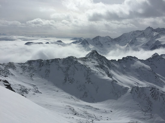 Obergurgl-Hochgurgl - Great snow on and off piste no queues weather mild. Perfect. Slopes very quiet.   - © Paul's iPhone