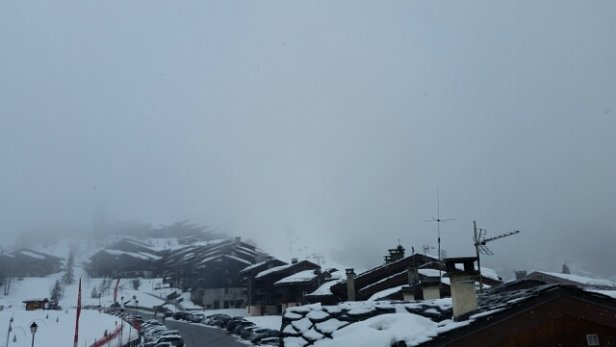 Valmorel - Still snowing. Poor visability. - © UK Gary