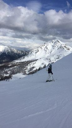 Serre Chevalier - Tres bonne neige sauf sur secteur briancon  - © Erwan34