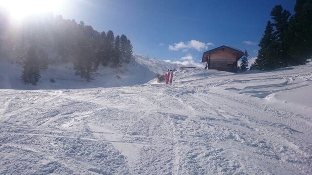 Obereggen - Pampeago - Predazzo - Monday's fresh snow giving lovely skiing conditions.  - © spikeymikey25