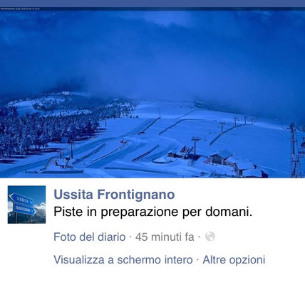 Ussita - Frontignano - 20-30 cm, temperatura ottimale, battitura delle piste in corso. Da domani sabato 5 marzo SI PARTE!!! - © da sabato 5 marzo APERTO