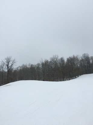 Timber Ridge - Skiing is amazing this weekend. Get out and enjoy it while you can!  - © iPhone
