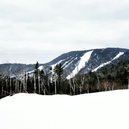 Gore Mountain - was there Tuesday.  place empty, morning was awesome,  but fell apart by 1. was 60 so can't really complain. if they get colder the whole place will be a sheet of ice. - © brog302