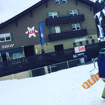 Alta Ski Area - Snowboarders  - © ragtime Ricky