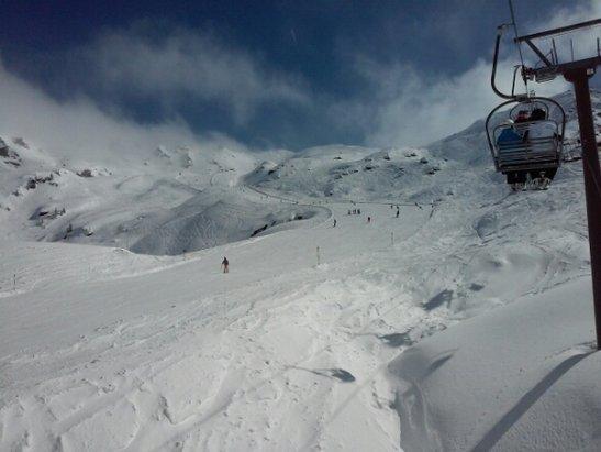 Zillertal Arena - warunki śniegowe super warunki pogodowe zmienne - © robert.kamil.kaminski