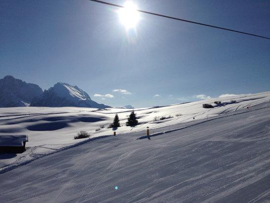 Alpe di Siusi / Seiser Alm - [! skireport_firsthandpost_pagetitle ] - © iPhone di Fabrizio Manci