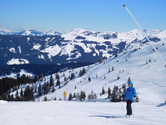 Ski Juwel Alpbachtal Wildschönau - Great skiing today at Alpback - © Martin's iPad