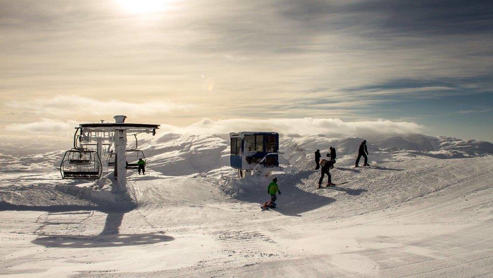 Eikedalen skisenter viste seg fra sin beste side. - ©Jan Petter Svendal