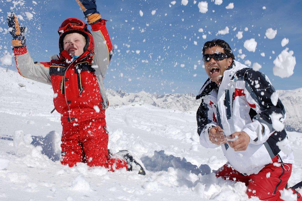 Buona festa del papà...sulla neve!