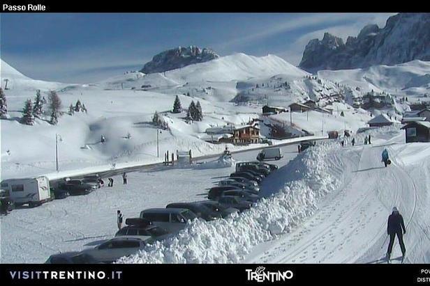 Passo Rolle, Val di Fiemme - ©Val di Fiemme webcam