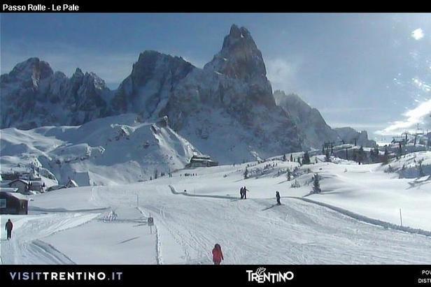 Passo Rolle, Val di Fiemme - © Val di Fiemme webcam