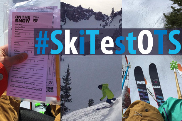 A tester's look at what went down during the OnTheSnow Ski Test 2016/2017, as told through social media. - © OnTheSnow staff