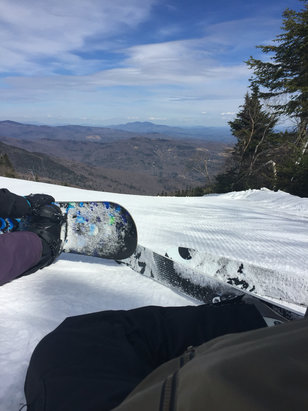 Sugarbush - Better than expected! Groomers were excellent. - © Jeffrey's phone