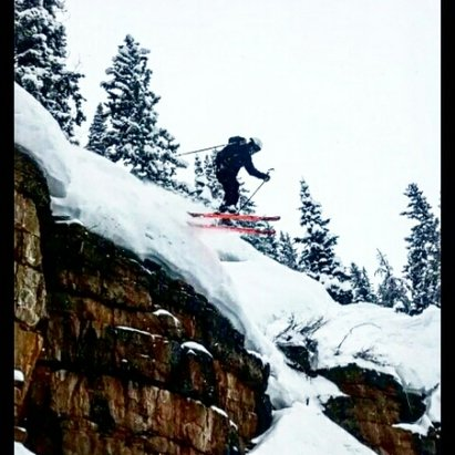Beaver Creek - The Beav was ballin today, dropping 30 footers