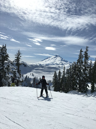 Mt. Baker - Fantastic weather on Pan Dome today! - © Penny's iPhone