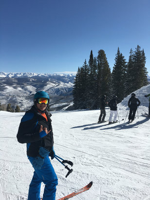 Beaver Creek - Bluebird day. Great packed powder day. No slush.  - © Lemmer's iPhone