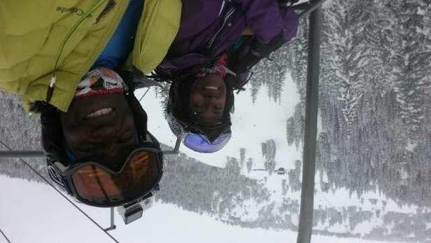 Breckenridge - Thank U Breckenridge. ...enjoy the snowy farewell gift til we dance again.   pow, pow. - ©vonfleming09
