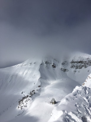 Big Sky Resort - Great powder day