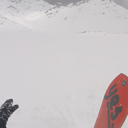 Arapahoe Basin Ski Area - views from the east wall...if you're reading this it's too late - ©Taylor's iPhone