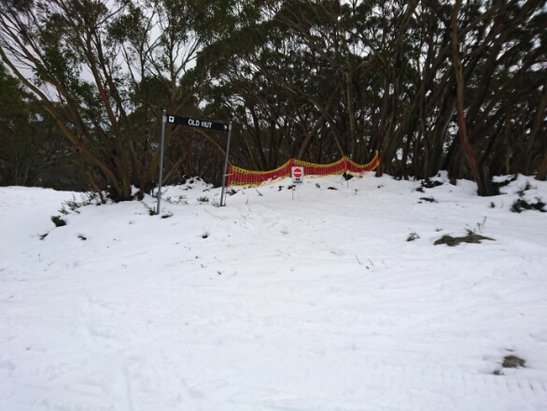Mt. Baw Baw Alpine Resort - one of the many closed runs today - ©Jimmy C 84