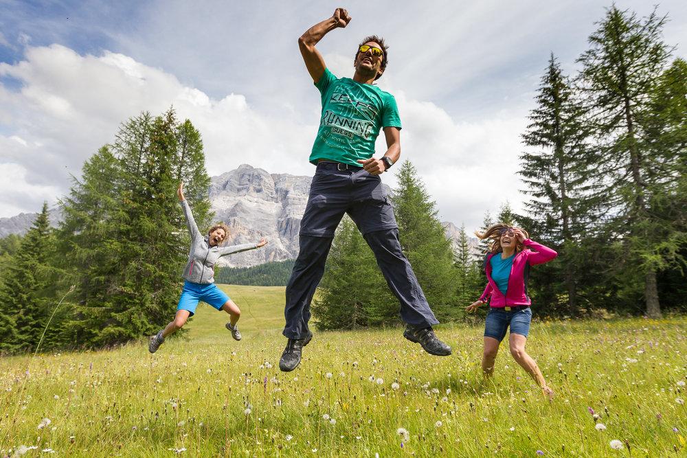 La montagna d'estate in Alta Badia - © Consorzio Turistico Alta Badia