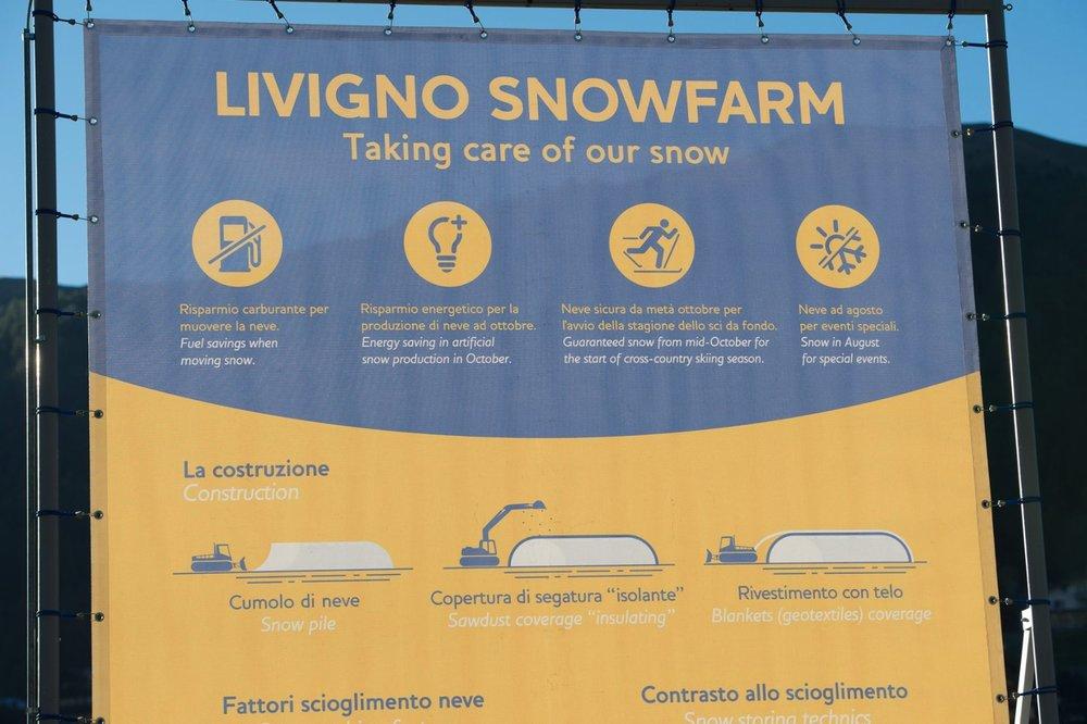 Livigno Snowfarm: ecco come si conserva la neve