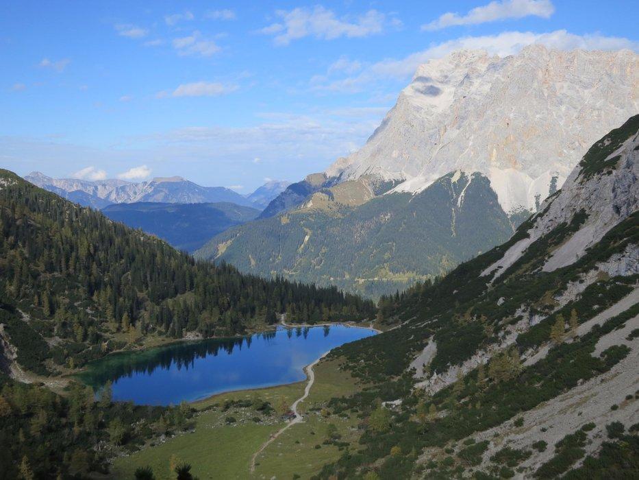 Der Seebensee, mit wunderbarem Blick auf die Bergwelt - ©Armin Herb