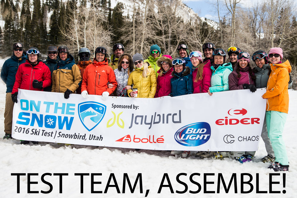 OnTheSnow 2016/2017 Ski Test Team - ©Liam Doran