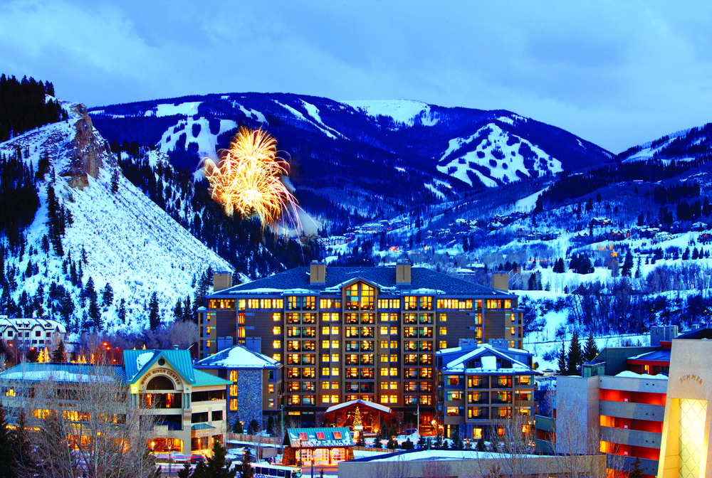 Fuochi d'artificio sul Westin a Beaver Creek
