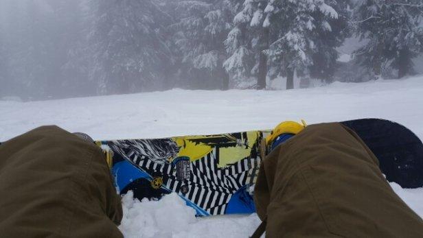 Zieleniec Ski Arena - jeszcze wprawdzie nie kręcą, ale to żaden problem  - © flc