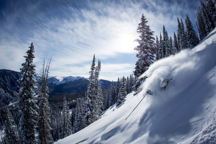A taste of the steep and deep at Aspen Snowmass. - ©Matt Power