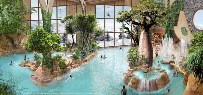 Aquariaz, le Centre aquatique d'Avoriaz - © Pierre et vacances