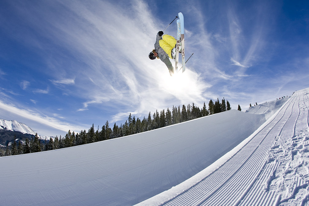 Super pipe equals super air. - © Breckenridge Ski Resort
