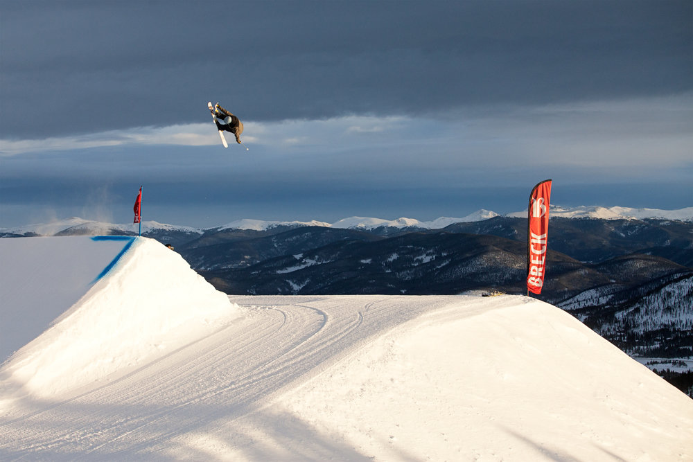 Huckin' ain't easy, but it's necessary. - © Breckenridge Ski Resort