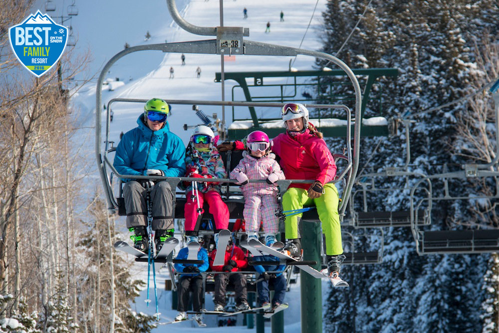 You never forget your first chair. - ©Deer Valley Resort