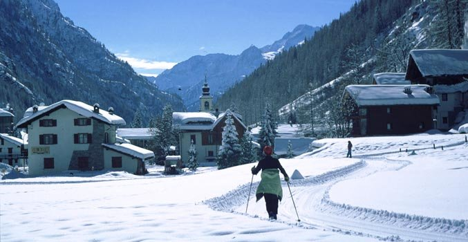 Gressoney-La-Trinité - Monterosa Ski, Italy