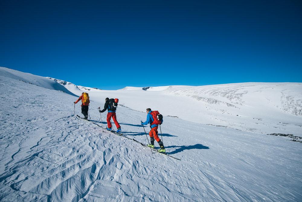 Skarejern kan være kjekt å ha på isete underlag. - ©Tor Berge - Norexplore